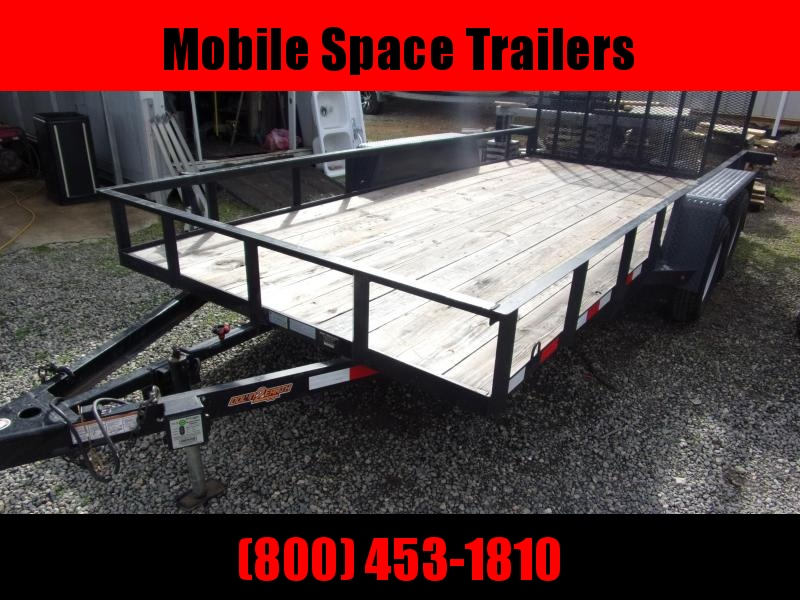 2019 Down 2 Earth Trailers 82X16 Equipment Trailer Other Trailer