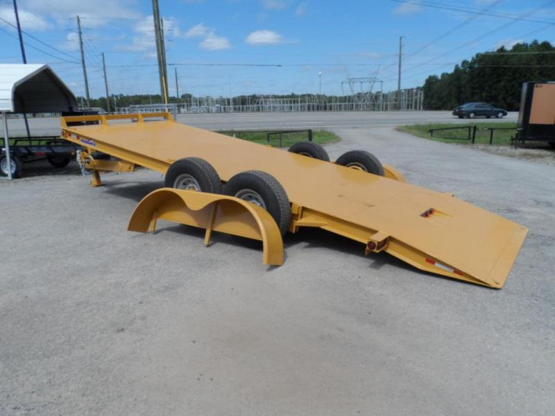 2019 Hawke Trailers equipment 80x20 12k Hydraulic tilt deck Equipment Trailer