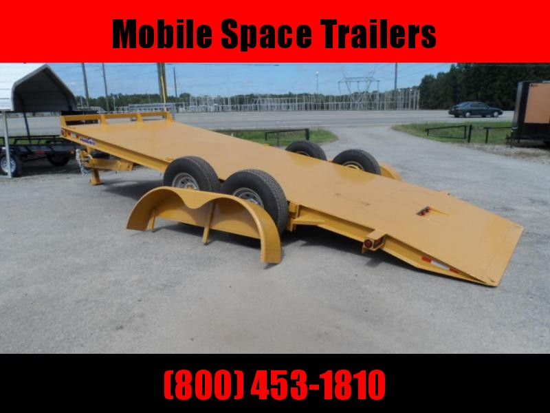 Hawke Trailers equipment 80x20 12k Hydraulic tilt deck Equipment Trailer