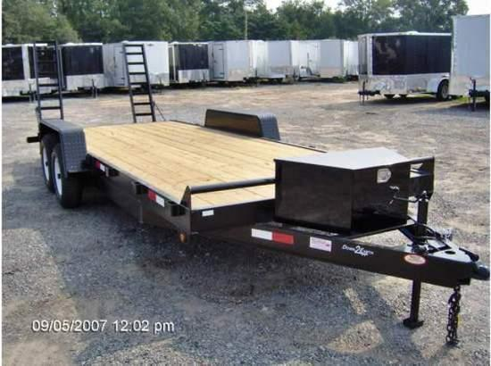 2019 Down 2 Earth Trailers 82x20 7k Equipment Trailer