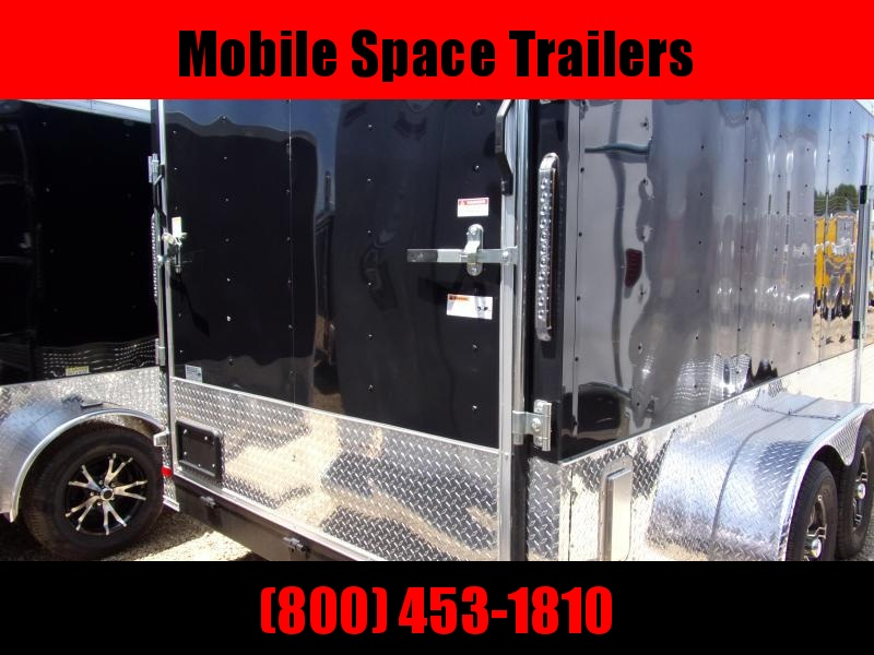 Covered Wagon Trailers 7x14 MCP Bk ramp door Enclosed Cargo Trailer