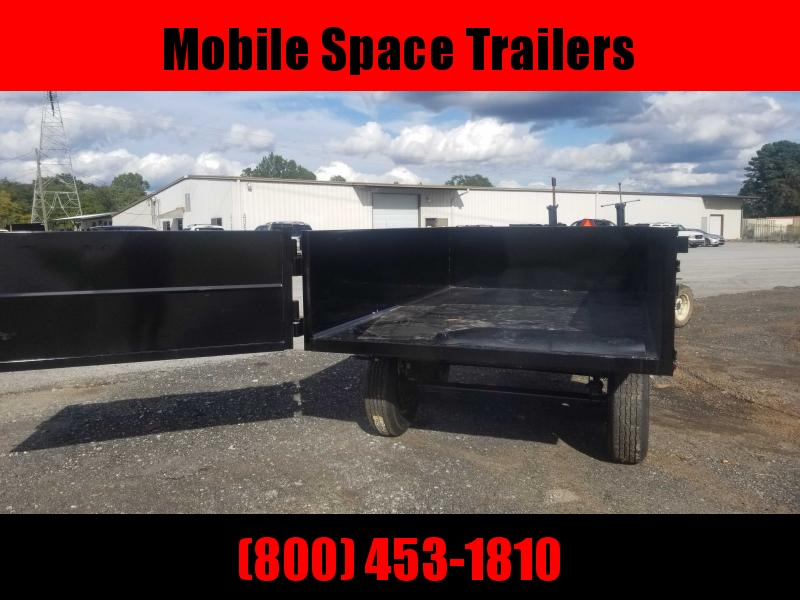 Hawke 6x10 24 high side 10k hawke Dump Trailer