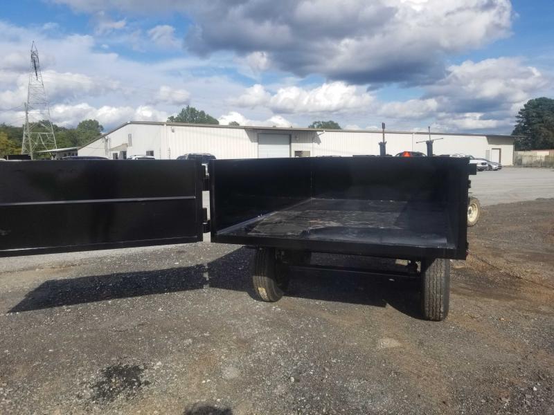 Hawke 6x10 24 high side 7k hawke Dump Trailer