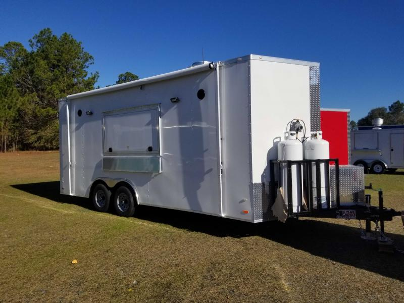 Covered Wagon Cargo 8X20  concession Vending / Concession Trailer
