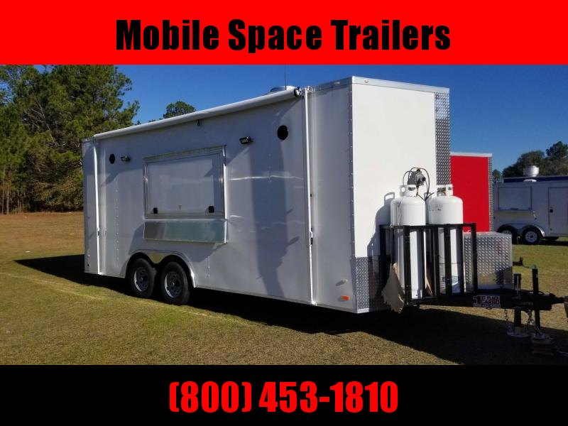 Covered Wagon Cargo 8X20  concession Vending / Concession Trailer