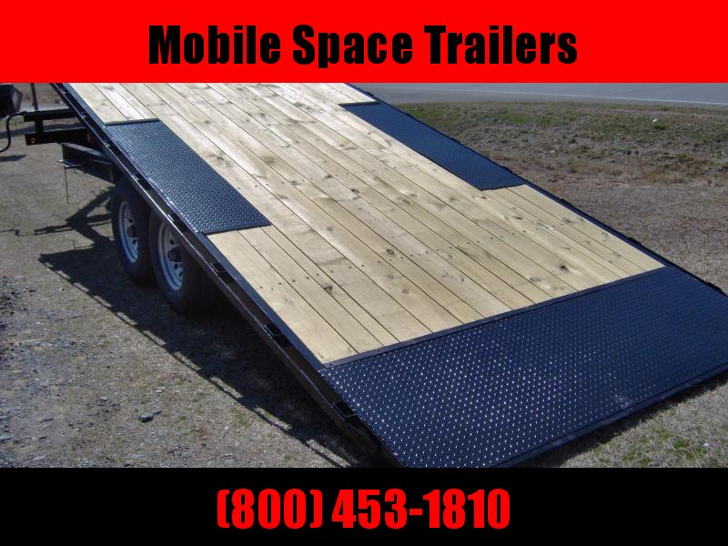 Down 2 Earth Trailers 8x22 tilt 14k Equipment Trailer