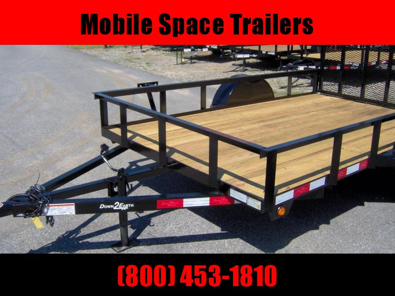 2019 Down 2 Earth Trailers 76x10ut Utility Trailer