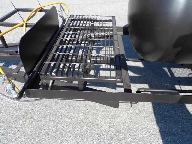2019 Bubba Grill Smoker 250R310 Reverse Flow Vending / Concession Trailer