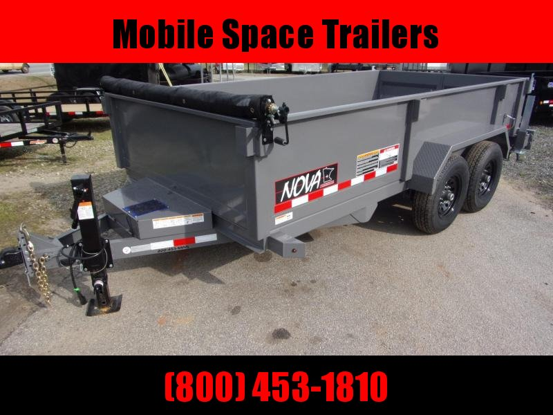 2020 Midsota 82X14 14K NOVA Dump Trailer