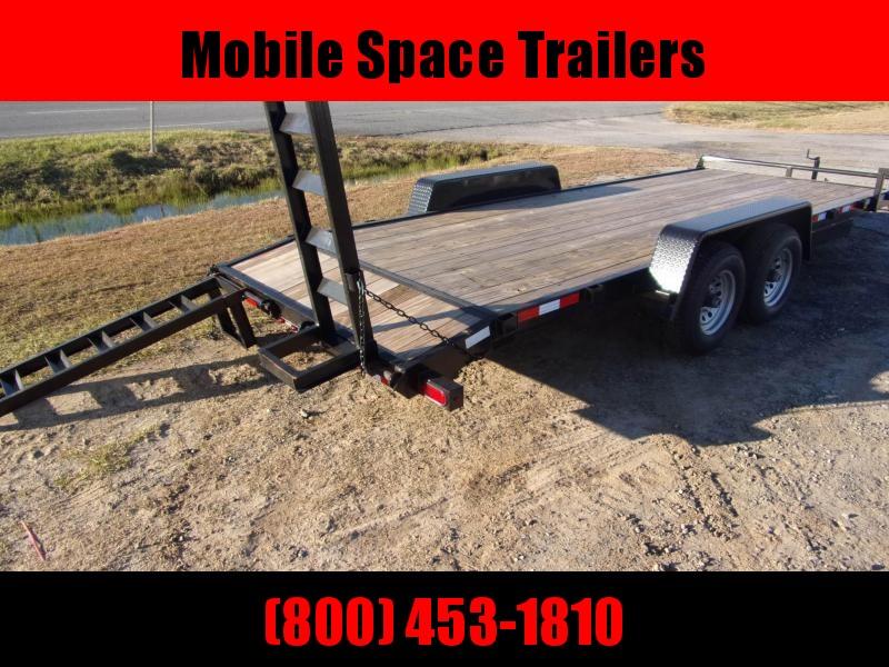 Down 2 Earth Trailers 82x20 10k Equipment Trailer