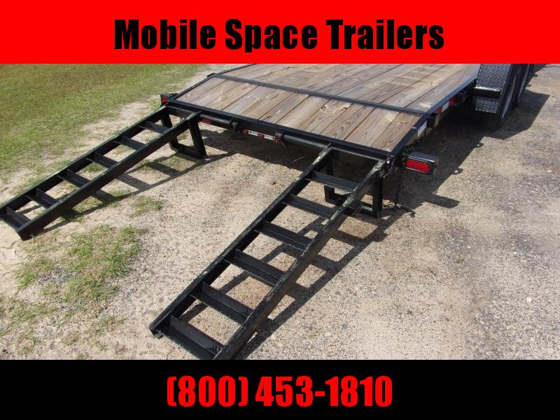 Down 2 Earth Trailers 82x20 7k Equipment Trailer