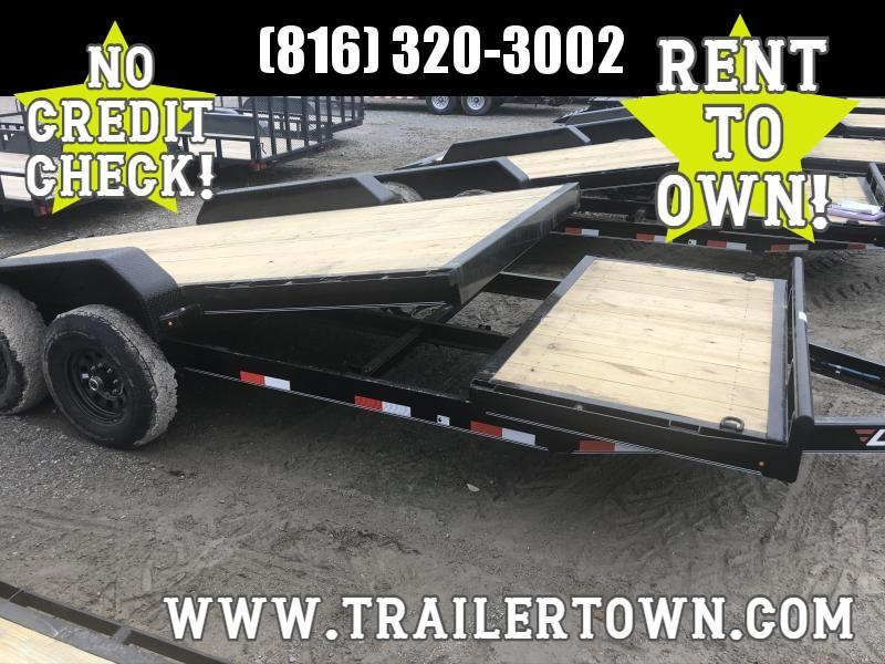 2020 LAMAR 83X20 TILT EQUIPMENT TRAILER W/7K AXLES