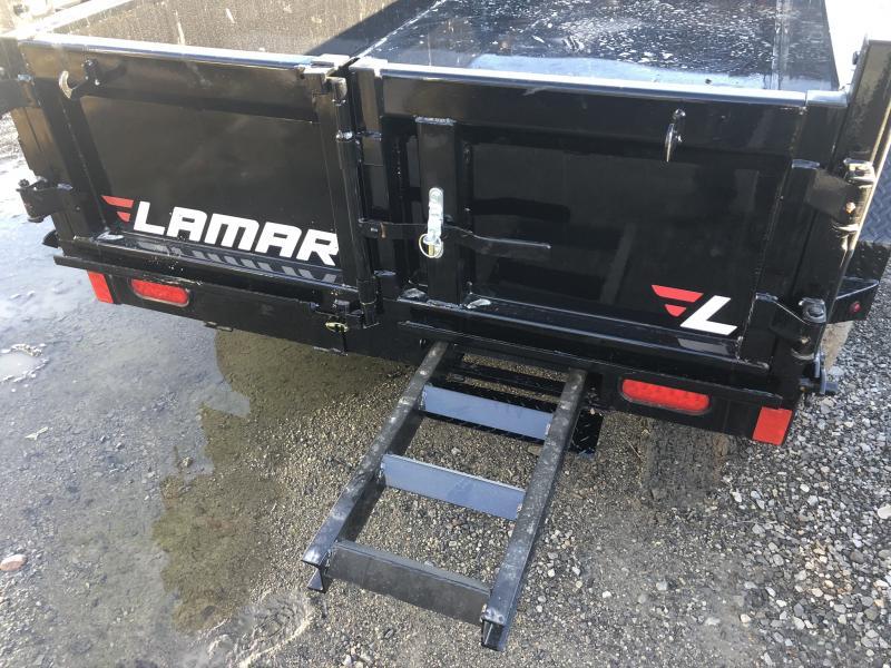 2020 LAMAR 60 X 10 MINI DUMP TRAILER