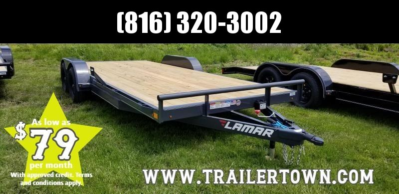 2019 LAMAR 83X20 EQUIPMENT TRAILER