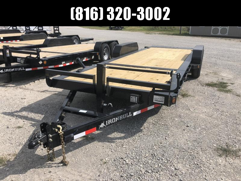 2020 IRON BULL 83X22 TILT LOPRO EQUIPMENT HAULER TRAILER