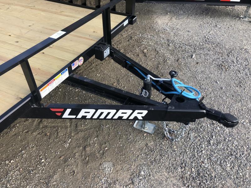 2020 LAMAR 83 x 16 UTILITY TRAILER