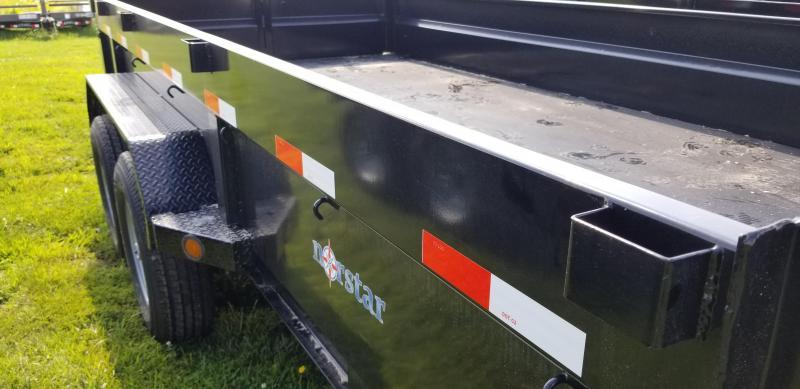 2019 NORSTAR 83X14 DUMP TRAILER