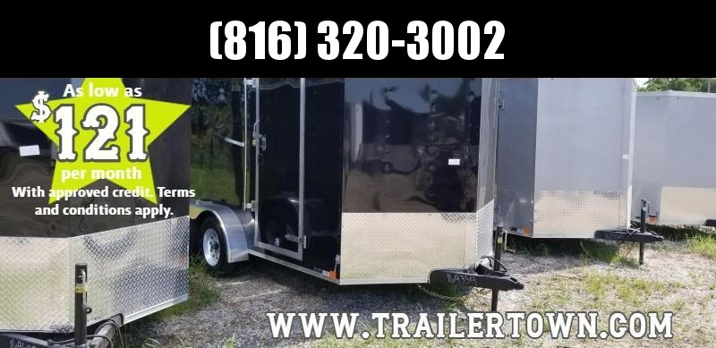 2020 UNITED 7 X 14 X 7 ENCLOSED CARGO TRAILER