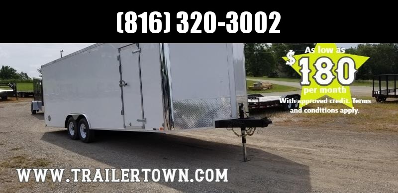 2020 UNITED 8.5 X 27 X 6.5 ENCLOSED CARGO TRAILER