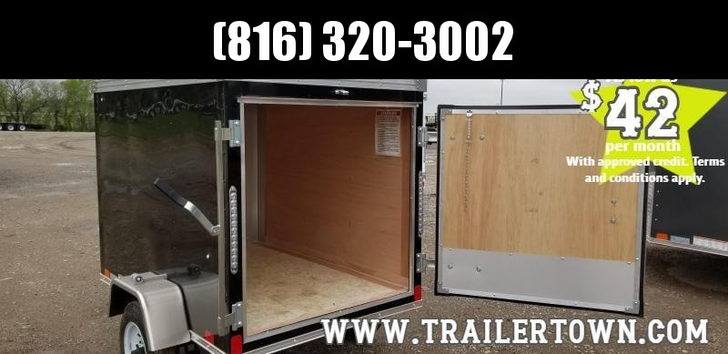 2020 UNITED 4X6X4 ENCLOSED CARGO TRAILER