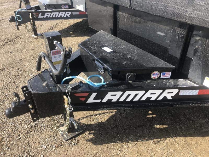 2020 LAMAR 83X16 DUMP LOPRO TRAILER