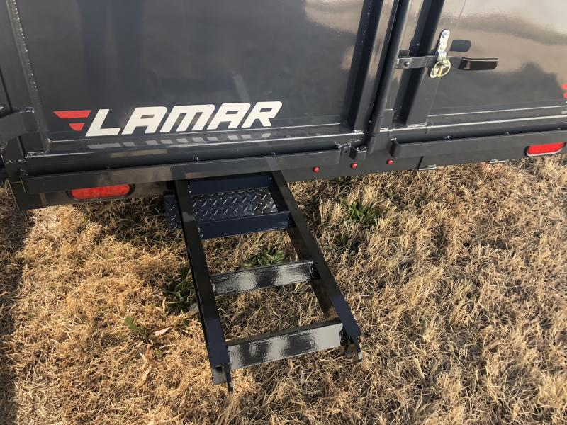 2020 LAMAR 77 X 12 DUMP TRAILER