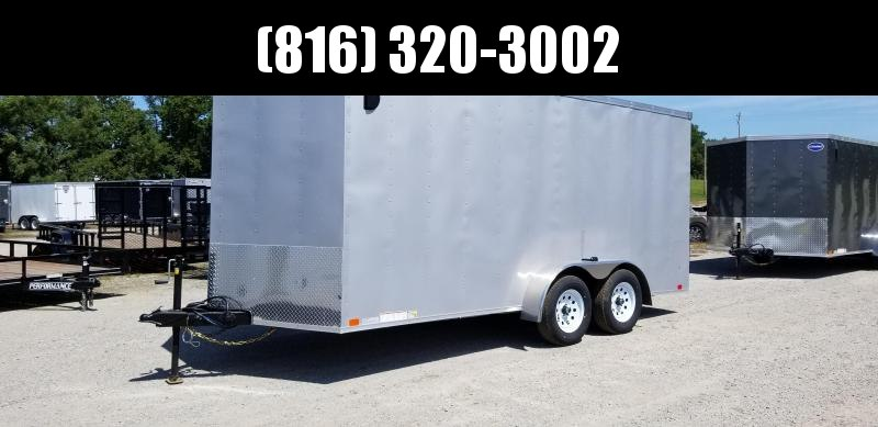 2020 UNITED 7 X 16 X 6.5 ENCLOSED CARGO TRAILER