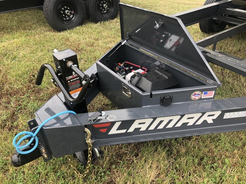 2020 LAMAR 83X16 DUMP LOPRO TRAILER W/14 PLY TIRES