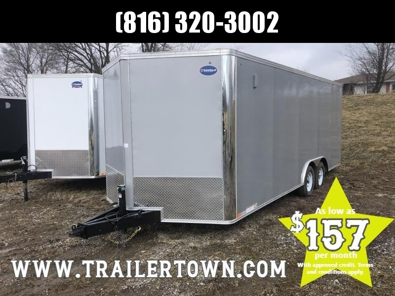 2019 UNITED 8.5 X 23 X 6.5 ENCLOSED CARGO TRAILER