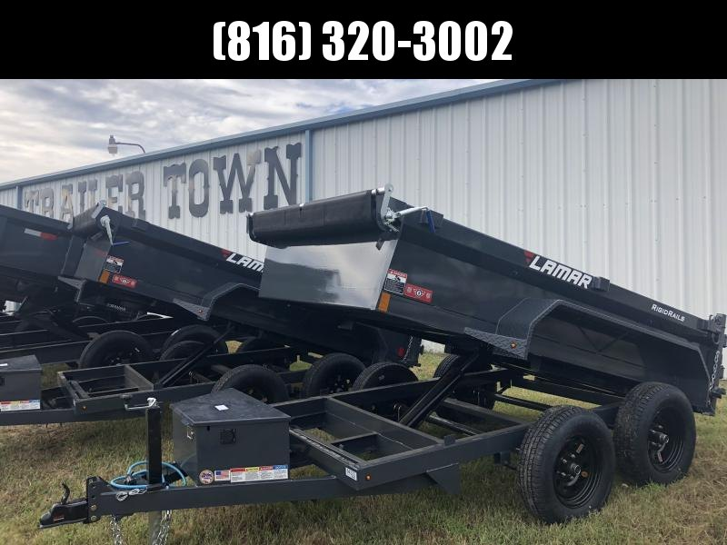 2020 LAMAR 60 X 10 MINI DUMP TRAILER