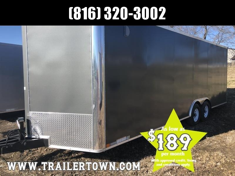 2019 UNITED 8.5 X 27 X 7 ENCLOSED CARGO TRAILER