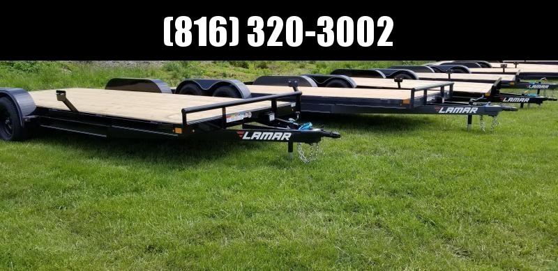 2020 LAMAR 83X18 EQUIPMENT TRAILER W/7K AXLES