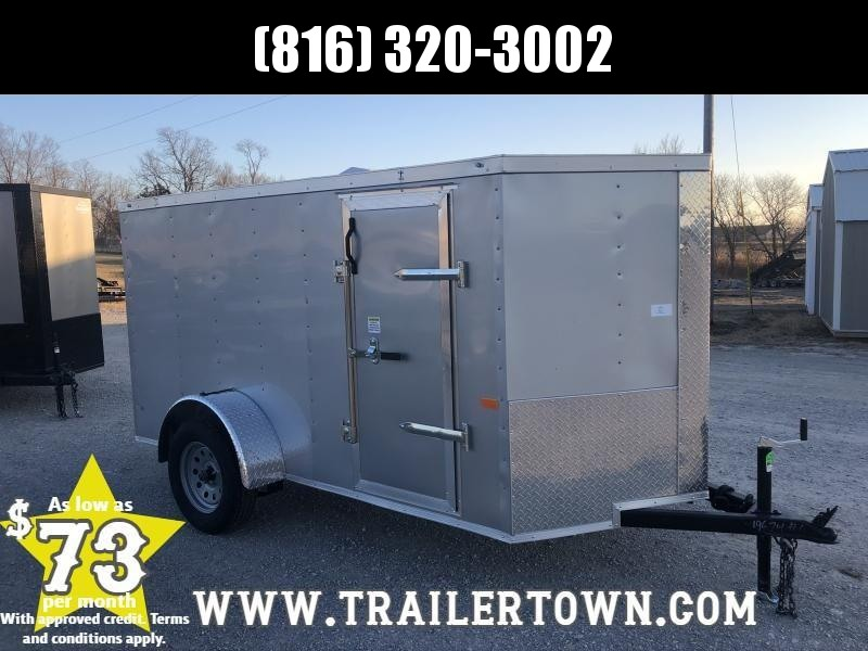 2020 ROCK SOLID 5 X 10 X 5 ENCLOSED CARGO TRAILER