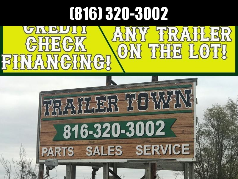 RENT TO OWN ANY TRAILER IN STOCK! NO CREDIT CHECK!!