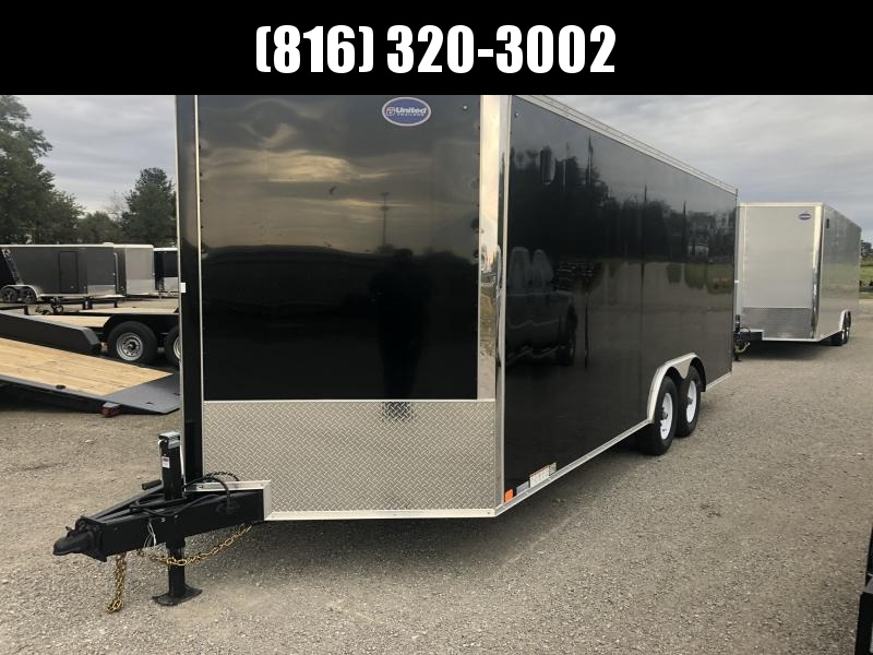 2020 UNITED 8.5 X 23 X 6.5 ENCLOSED CARGO TRAILER