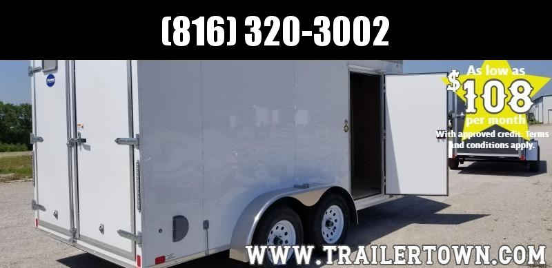 2020 UNITED 7 X 14 X 6 ENCLOSED CARGO TRAILER