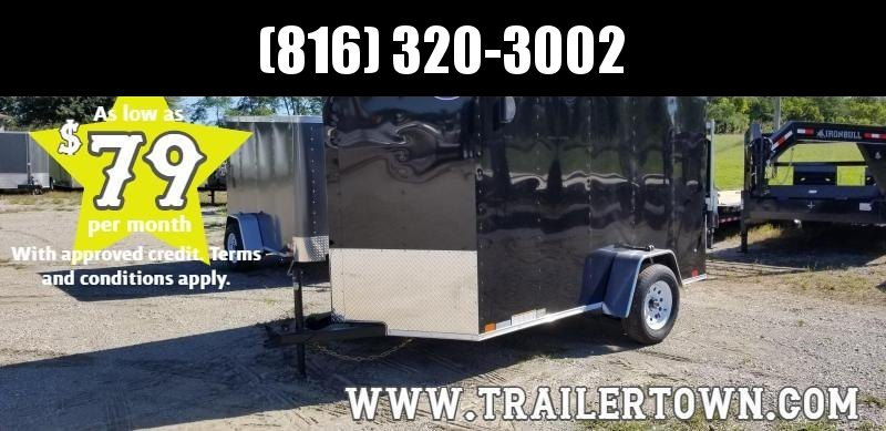 2020 UNITED 6 X 10 X 6 ENCLOSED CARGO TRAILER