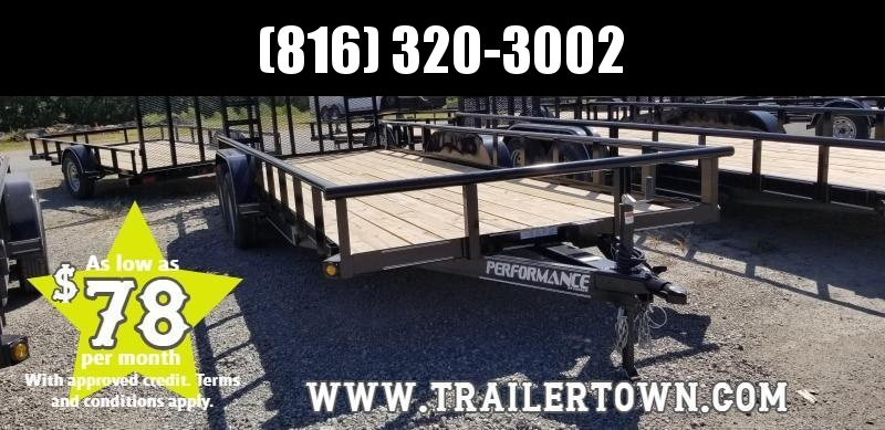 2019 PERFORMANCE 83 X 20 UTILITY TRAILER