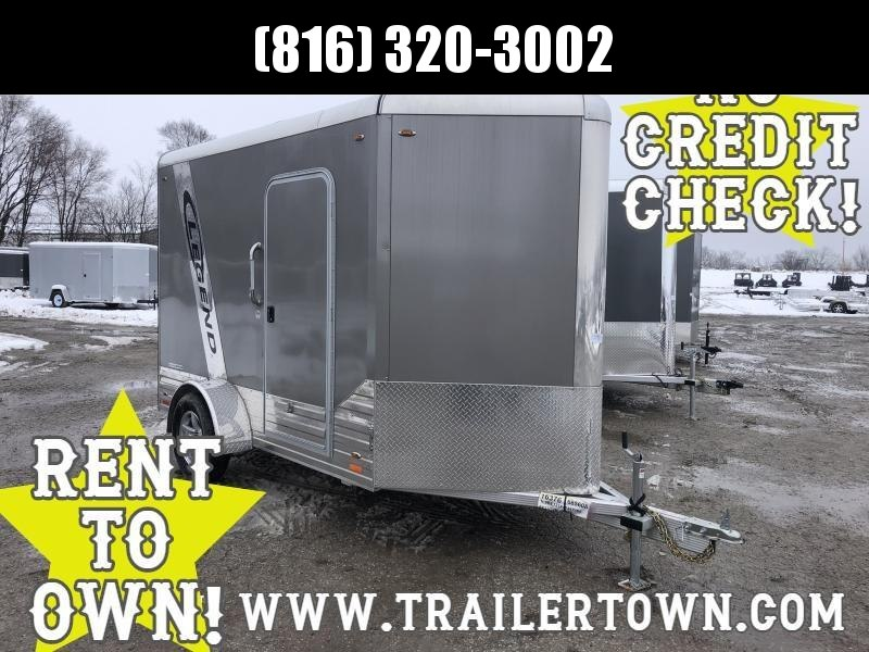 2018 LEGEND 6 X 13 X 6.5 ALL ALUMINUM CARGO TRAILER WITH TORSION AXLE
