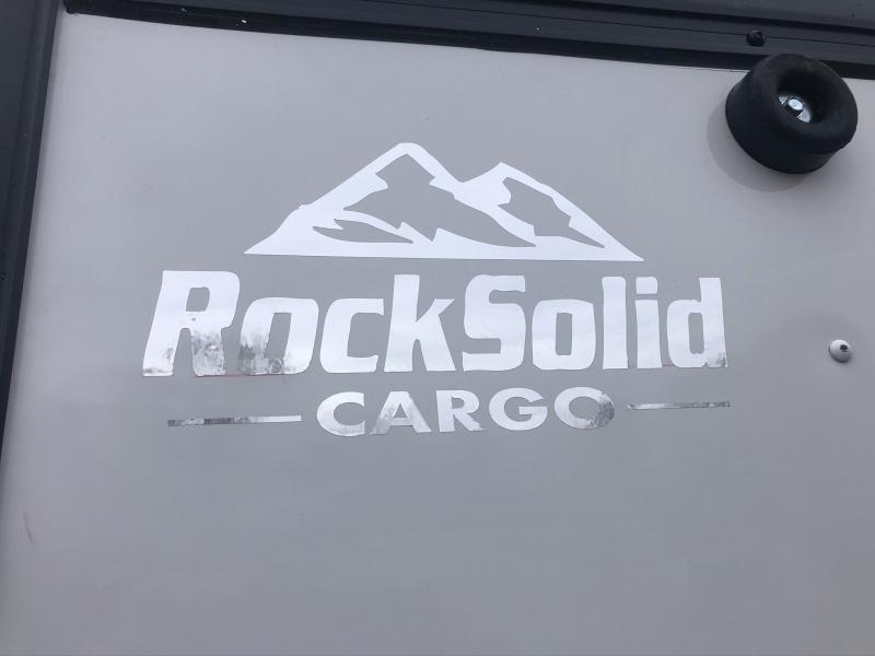 2020 ROCK SOLID 6 X 12 X 6 ENCLOSED CARGO TRAILER