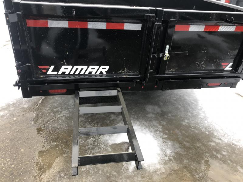 2020 LAMAR 83X14 DUMP LOPRO TRAILER