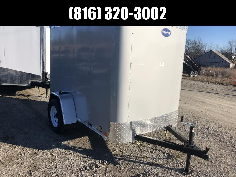 2020 UNITED 5x8x5.5 ENCLOSED CARGO TRAILER
