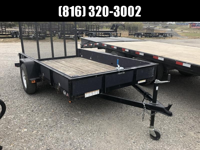 2010 NOVA 60X10 UTILITY TRAILER W/MOUNTED WINCH