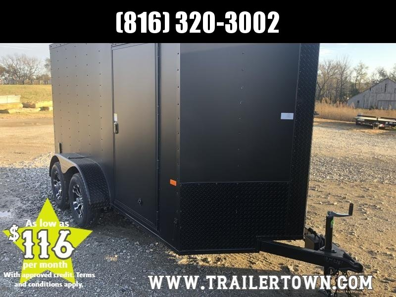 2020 ROCK SOLID 6 X 12 X 6 ENCLOSED CARGO TRAILER