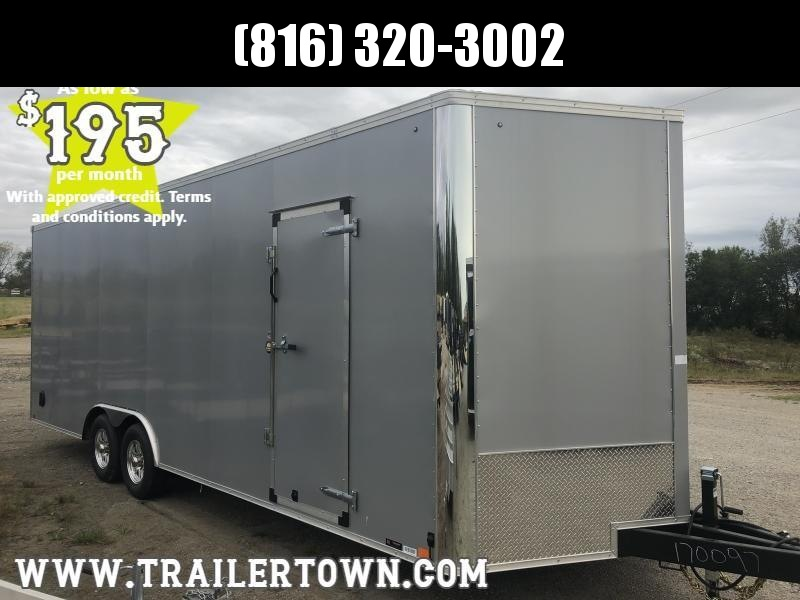 2020 UNITED 8.5 X 27 X 7.5 ENCLOSED CARGO TRAILER