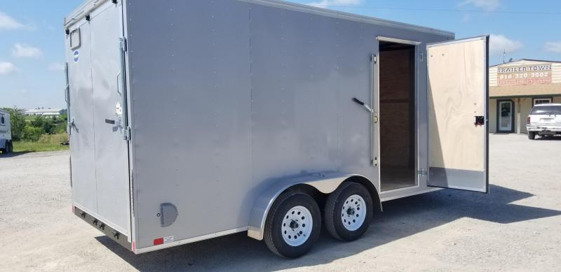 2020 UNITED 7 X 16 X 7 ENCLOSED CARGO TRAILER