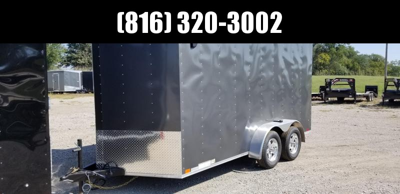 2020 UNITED 7 X 14 X 6.5 ENCLOSED CARGO TRAILER