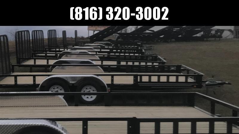 2020 LAMAR 83X14 GOOSENECK DUMP LOPRO TRAILER W/ 14PLY TIRES