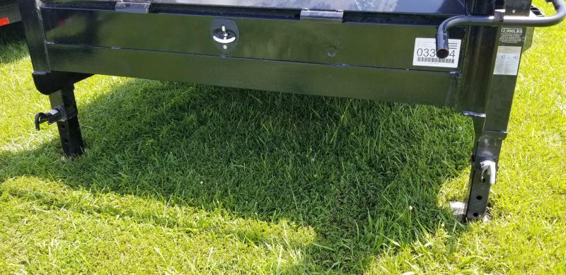 2019 IRON BULL 102x24 GOOSENECK TILT LOPRO EQUIPMENT HAULER TRAILER AND DRIVE OVER FENDERS