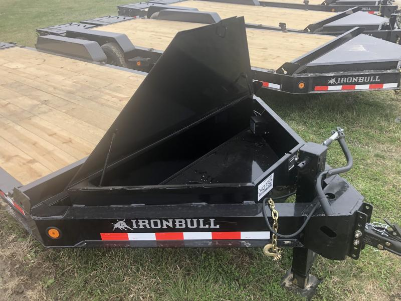 "2020 IRON BULL 83X20'6"" EQUIPMENT HAULER TRAILER WITH HEAVY DUTY 8"" I-BEAM FRAME"